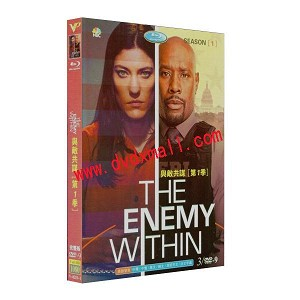 The Enemy Within 與敵共謀 第1季 3DVD