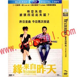靠譜歌王 Yesterday (2019) DVD